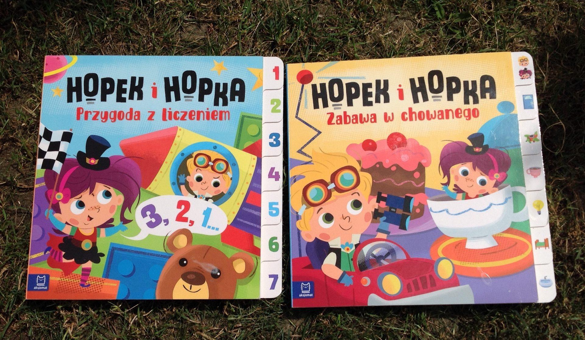 "Seria ""Hopek i Hopka"" wyd. Aksjomat 2018"