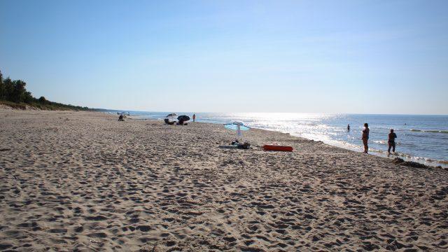 Plaża w Krynicy Morskiej Wejście nr 19