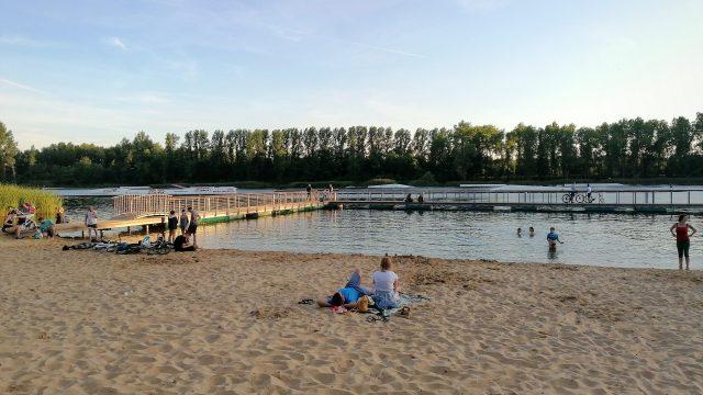 Kąpielisko i plaża Stawiki w Sosnowcu