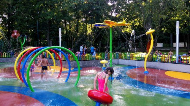 Wodny plac zabaw w Siemianowicach Śląskich
