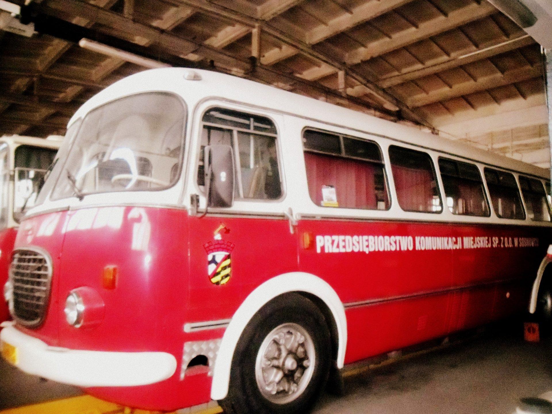 muzeum autobusów Będzin