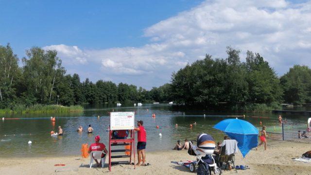 kąpielisko Czechowice koło Gliwic