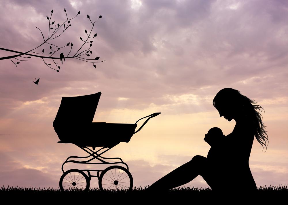 mama i dziecko, po porodzie