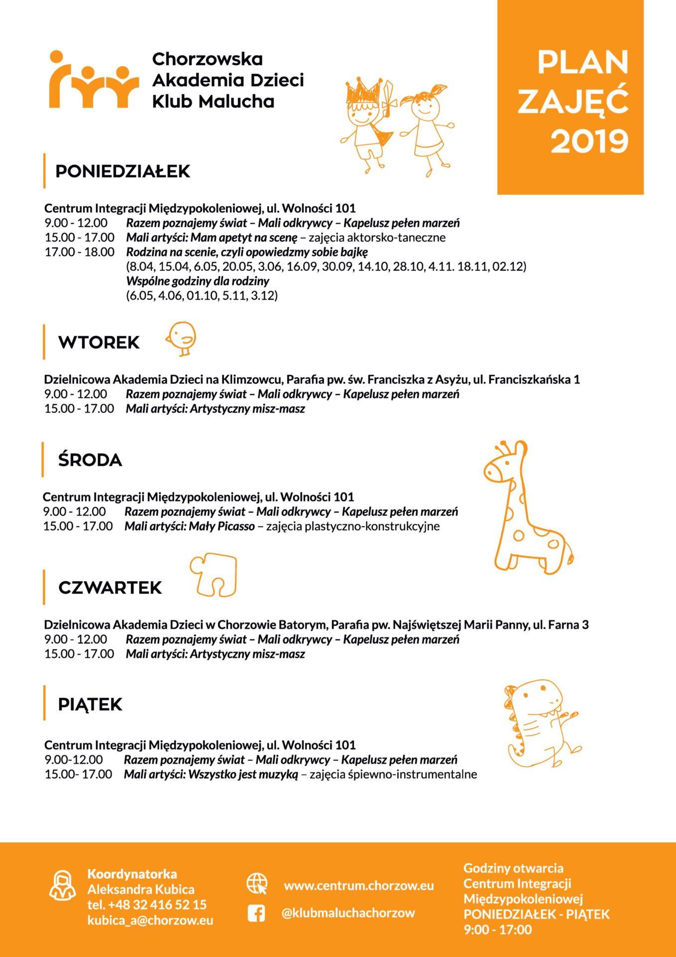 Chorzowska Akademia Dzieci Klub Malucha