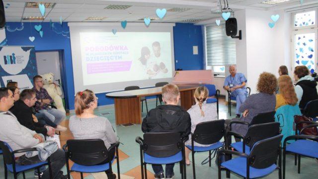 Dzień otwarty Oddziału Położnictwa i Perinatologii Górnośląskiego Centrum Zdrowia Dziecka w Katowicach.