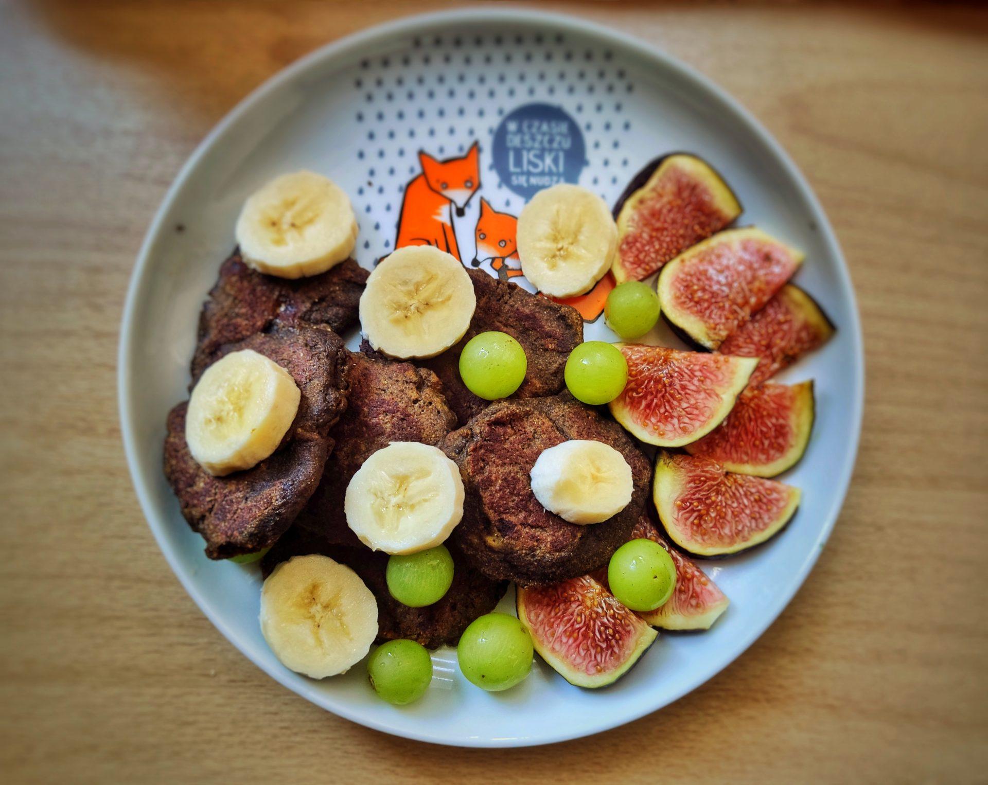 Kakaowe placki bananowe