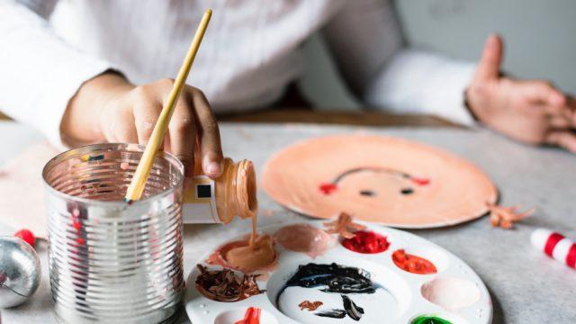 Maluch w akcji – zajęcia plastyczne