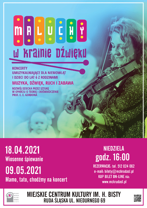 maluchy w krainie dźwięku koncerty dla dzieci