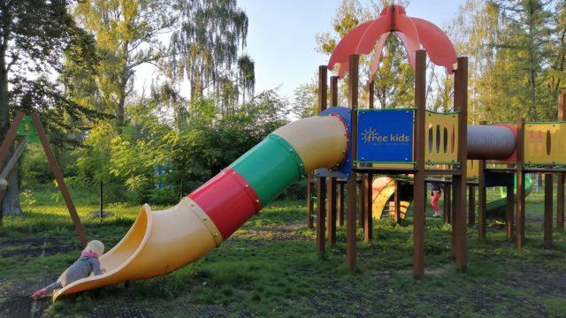 Park Rogoźnik - plac zabaw