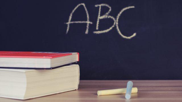 szkoła tablica