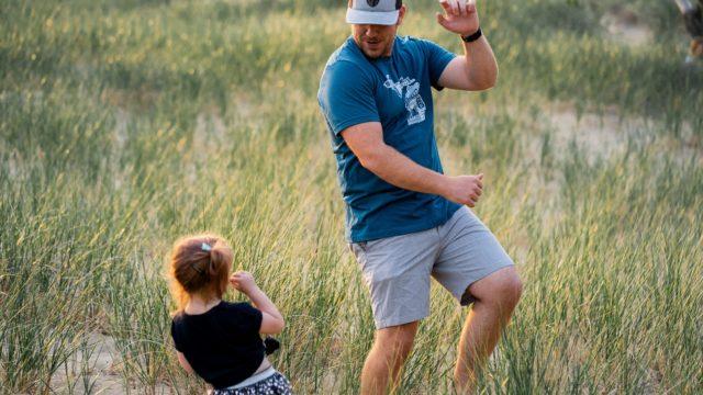 taniec taty z córką