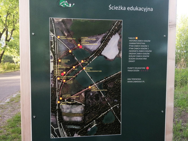 Żabie Doły, ścieżka edukacyjna