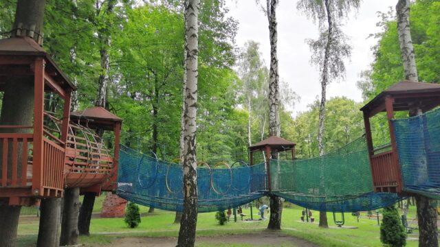 Księża Góra - park linowy